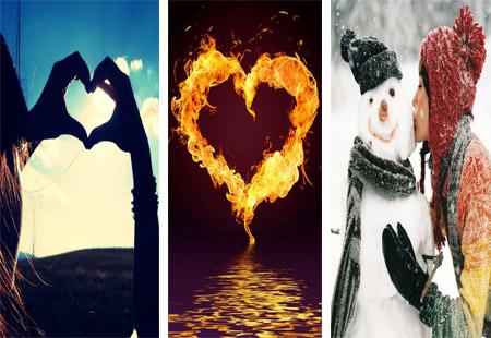 عکس های عاشقانه برای موبایل