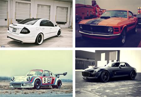 عکس های بسیار زیبا از ماشین های مدل بالا