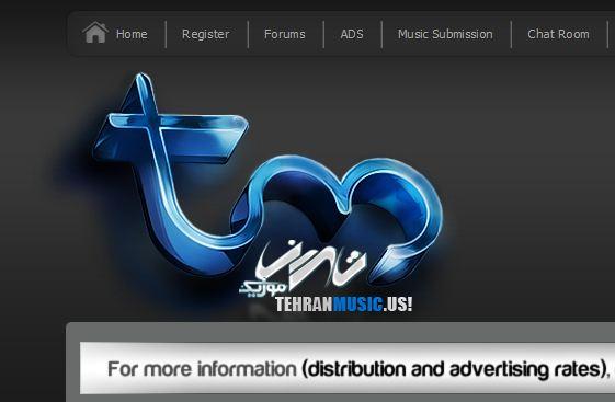 قالب تهران جدید تهران موزیک برای رز بلاگ و سایر وبلاگ ها
